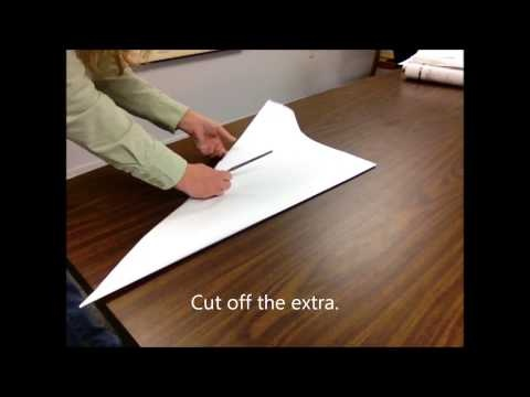 how to make a hook blade out of paper