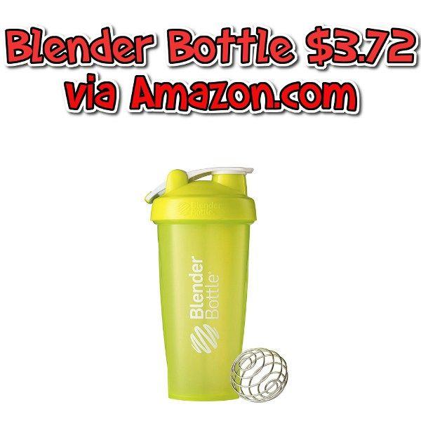 Amazon Deal: Blender Bottle for $3.72 - Lowest Price - http://couponsdowork.com/amazon-deals/amazon-deal-blender-bottle-for-3-72-lowest-price/