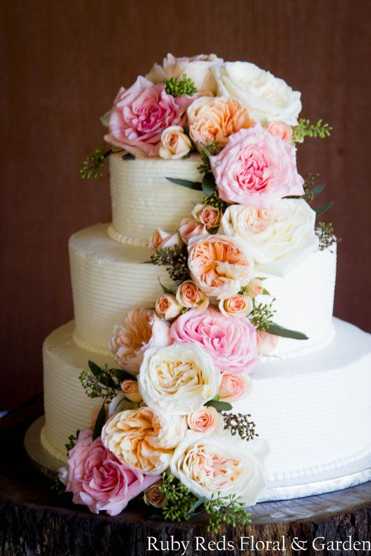 pink rose garden wedding cake 40 best white ivory champagne blush weddings images on 18583