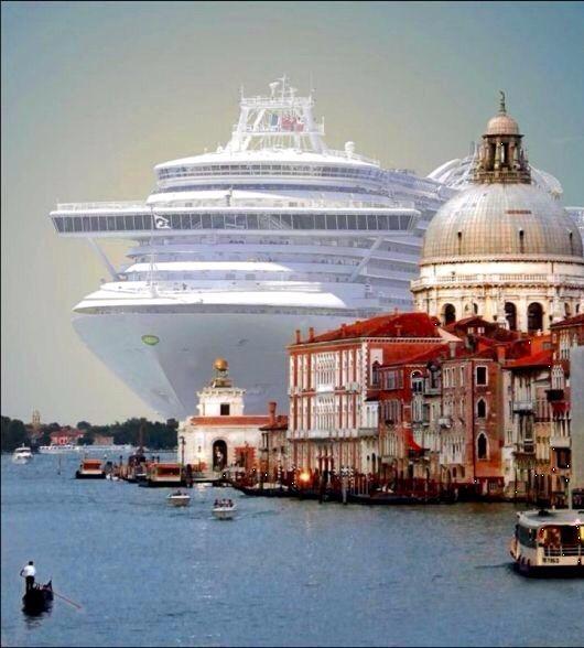 #MSC cruise in #Venice