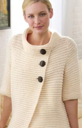 Very Sophisticated Clean Knit Ribbed Cardigan Design Free Pattern.  http://www.redheart.com/free-patterns/knit-ribbed-cardigan#