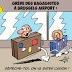 Grève des bagagistes à Brussels Airport |    Dessin de AH-Texte à lire sur soyons-serieux.fr
