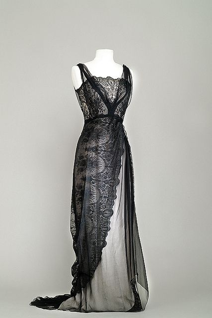 """Costume designed by Dorothy Jeakins and Charles Lemaire for Barbara Stanwyck in """"Titanic"""" (1953)."""