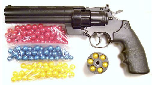 Six shooter paintball gun...oh my god I need this