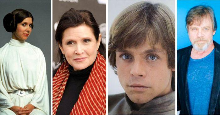Han pasado 38 años desde el estreno de la primera Película de Star Wars y es así como se ven los primeros actores que interpretaron los papeles principales.