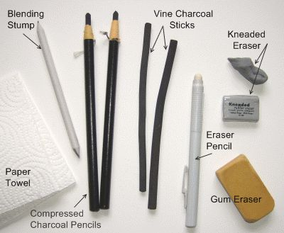 I want to try drawing with charcoal!! - sketching with charcoal...massively therapeutic & fun.