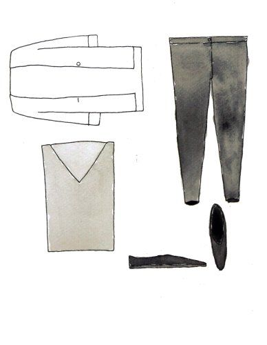 Garments & Co. illustration by Ana for Better Than Ann