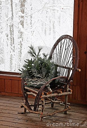 Rustic Bent Willow Chair