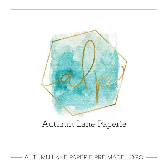 Premade Logo Design | Watercolor Flower Logo | Photography ...
