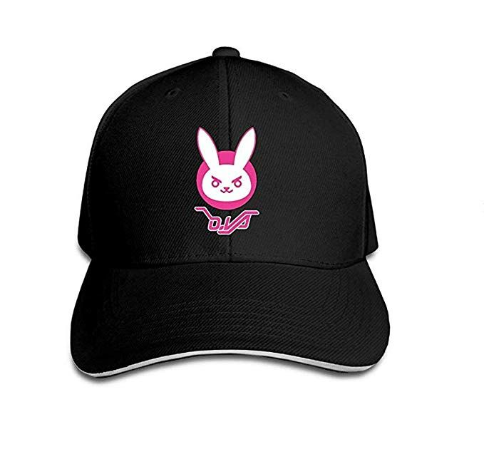 e3190be51 MaeFte Game Overwatch Dva Cosplay Lovely Hat Baseball Caps (One Size ...