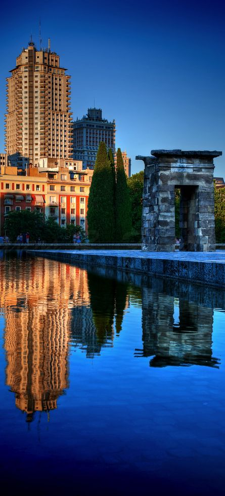 Templo de debod... uno de mis lugres favoritos de Madrid, Spain