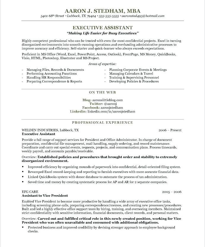 Assistant Resume Examples Administrative Assistant Resume Resume Examples Executive Resume Template