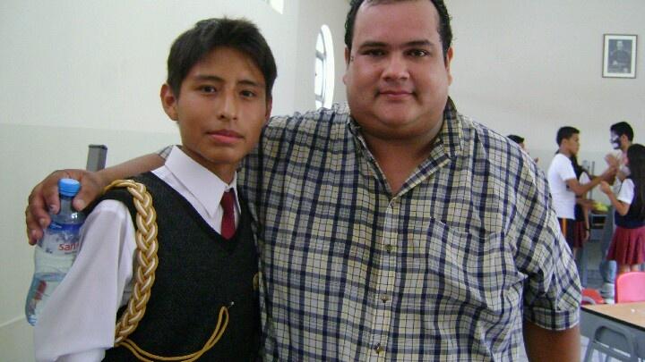 Con Tito Nieves del programa Yo Soy.