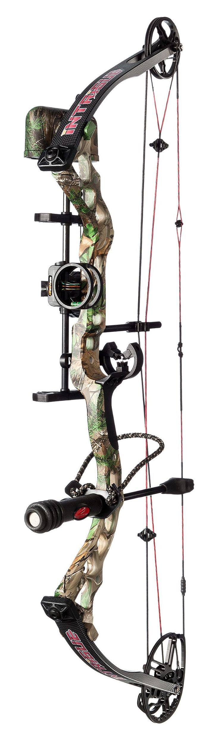 BlackOut Intrigue Compound Bow Package | Bass Pro Shops #bowhunting #compoundbow