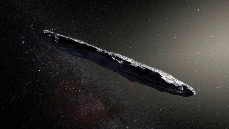 ICYMI: Alargado y de color rojo oscuro: así es el primer visitante interestelar de nuestro Sistema Solar