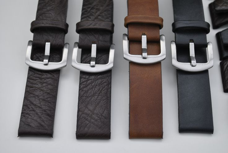 Custom Handmade Leather Watch Straps - Any Size, Leather & Stitching Color by ChristianStraps on Etsy