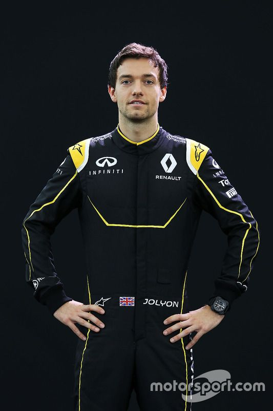 Jolyon Palmer Team: Renault Nationality: British Born: 20/07/1990, Horsham Grand prix debut: N/A Previous team: N/A Races: N/A Career wins: N/A Career pole positions: N/A