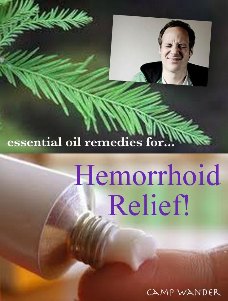 Essential Oil Remedies for Hemorrhoid Relief!