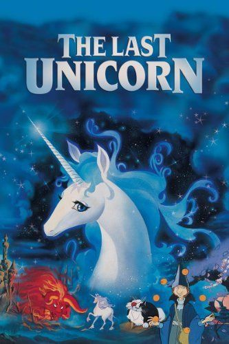 The Last Unicorn (1982): I first saw this Rankin/Bass movie in college, and even without the childhood nostalgia I was hooked.  Absolutely gorgeous and pretty faithful to the book.  The soundtrack by America is sweet, too. :)