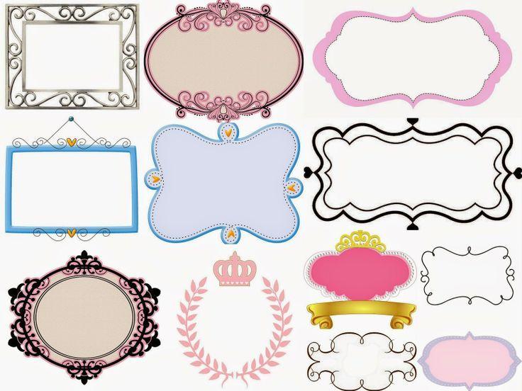 etiquetas para imprimir gratis personalizadas con varios diseños