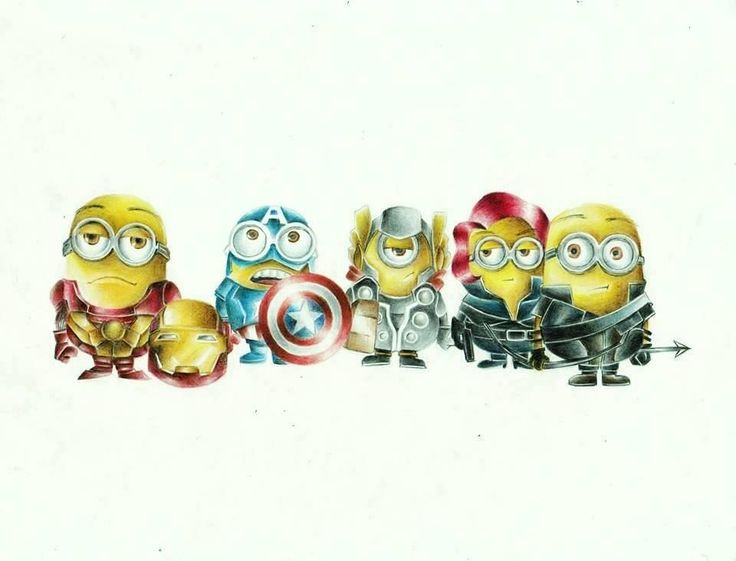 #Avengers #minions | pictures that caught my eye