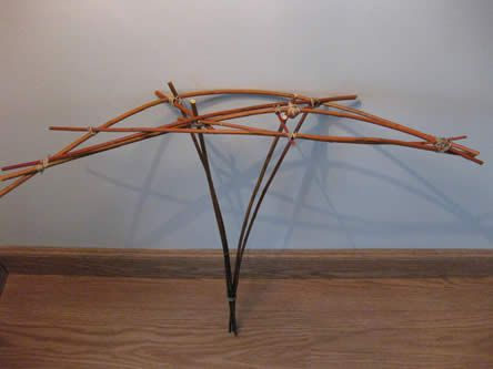 Willow for the structure for a range bouquet - diy