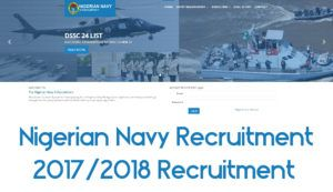 Nigerian Navy Recruitment | 2017/2018 Recruitment - TecNg