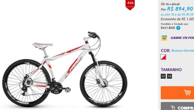 Bicicleta Alfameq Stroll Aro 29 Freio À Disco 24 Marchas << R$ 89490 em 10 vezes >>
