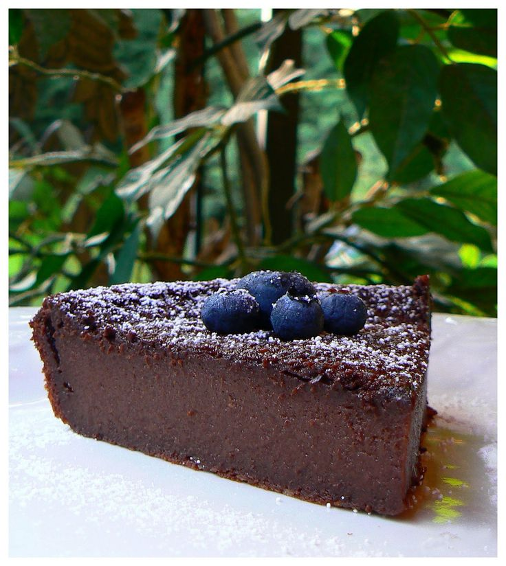 When the impossible becomes possible, it gives a excellent result! Impossible chocolate pie