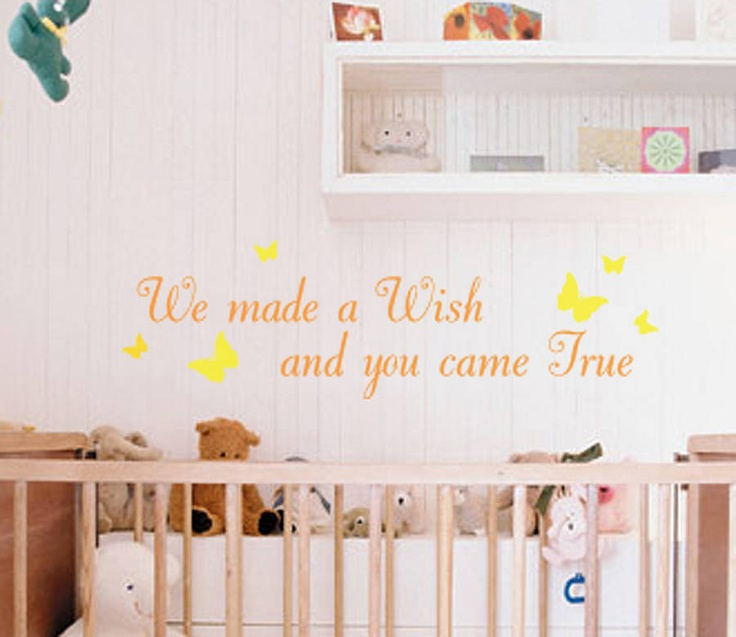 Wall sticker I shall most definitely be purchasing. Just lovely.