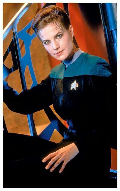 The women of Star Trek TV Series: Deep Space Nine. Actres: Terry Farrell.