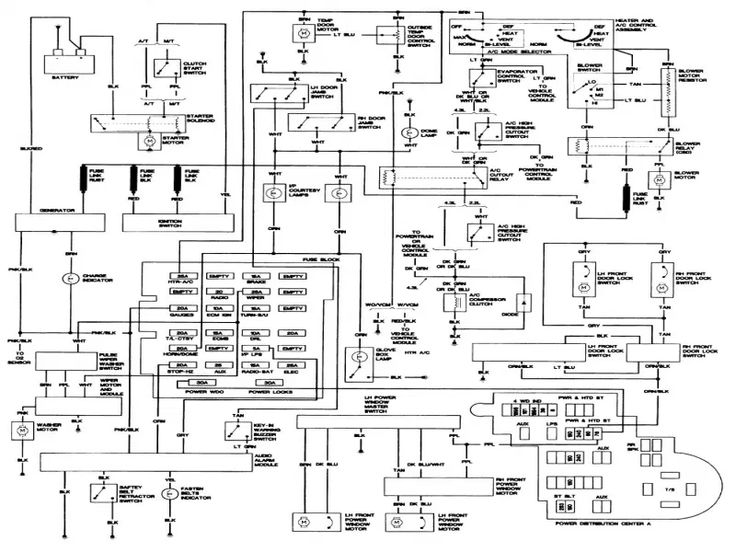 1993 Chevy S10 Wiring Diagram. installed a new fuel pump