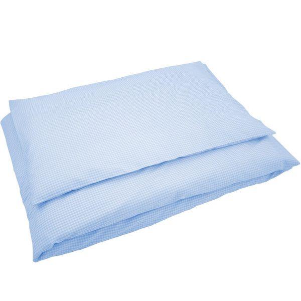 Bettwäsche groß Karo hellblau von Sugarapple via dawanda.com
