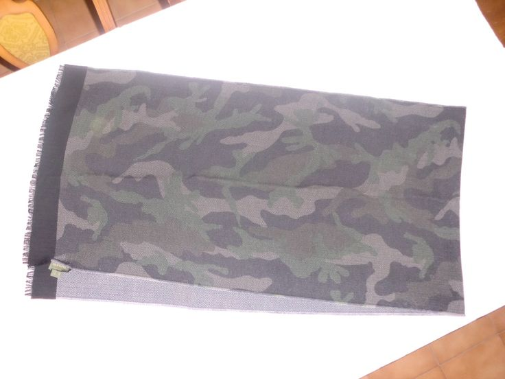 Valentino Valentino Camo Scarf Wool Size One Size $149 - Grailed