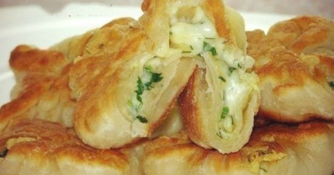 Кефирные конвертики с сыром и зеленью. Всегда готовлю, когда хочется вкусненкого! - Apetitno.TV