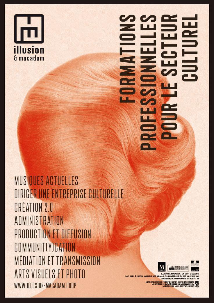 Affiche - Formation professionnelle - illusion & macadam By Marc Schmidt - Context