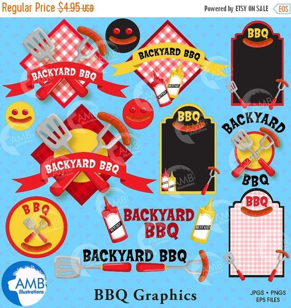 Bbq Sale Uk Part - 43: 80%OFF BBQ Clipart, Barbeque Clip Art, Barbecue Party Clipart, Barbecue  Words