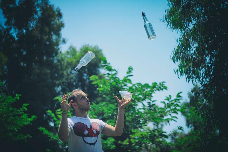 Dope shot. #flairbartendinggreece