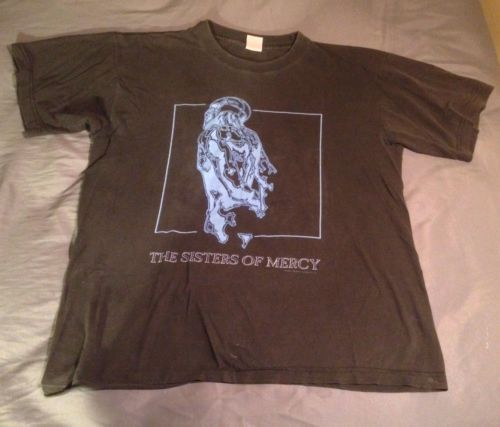 Vintage 90s 1993 Sisters of Mercy Tour Concert European Dates Tee T-shirt #SistersofMercy