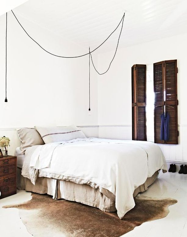 A Global Vintage Wonderland: The Vintage House Daylesford || The White Bedroom With Shutter Windows