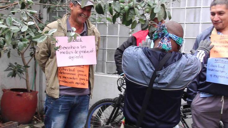 Educación Popular por los #DerechosCampesinosYa