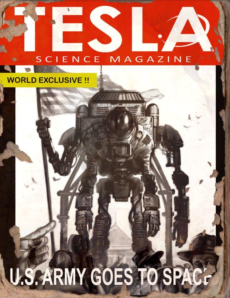 Tesla #7 Book - Fallout 4 by PlanK-69 on DeviantArt
