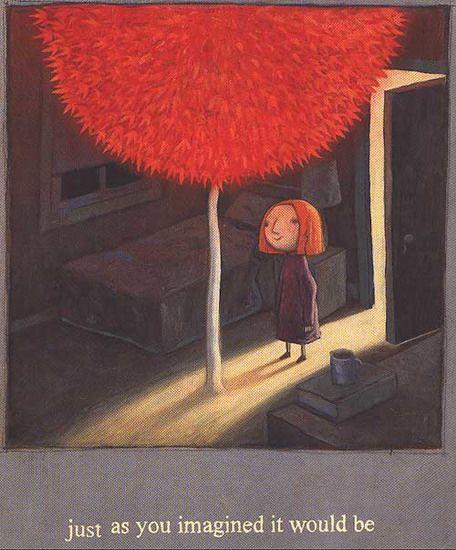 Shaun Tan:  The Red Tree