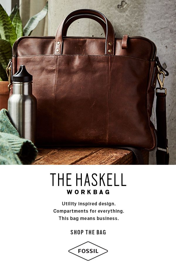 bc4e0d61cd9b Meet the men s Haskell workbag. Shop our latest work bags for men ...