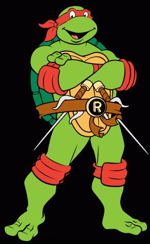 Raphael 1987 Teenage Mutant Ninja Turtles