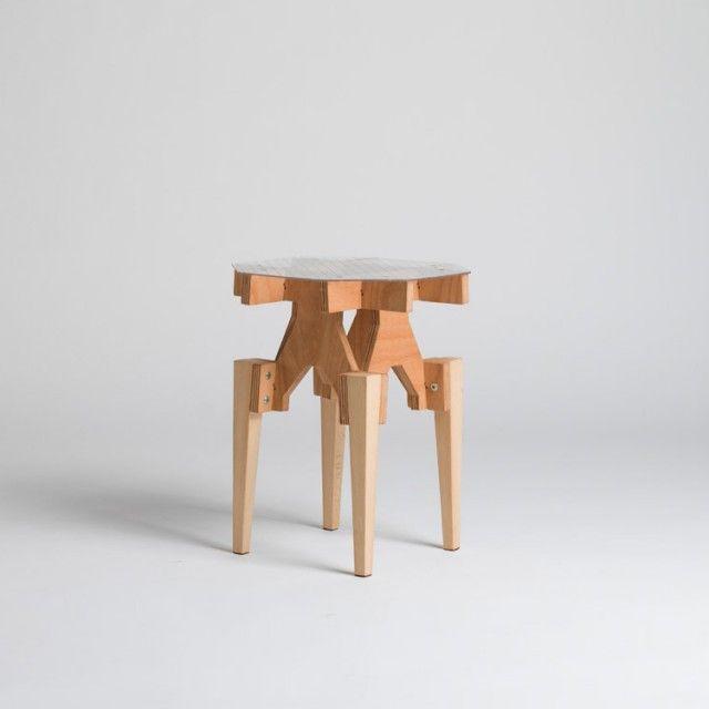 BATEA S, Tray Table - oak - Qrator