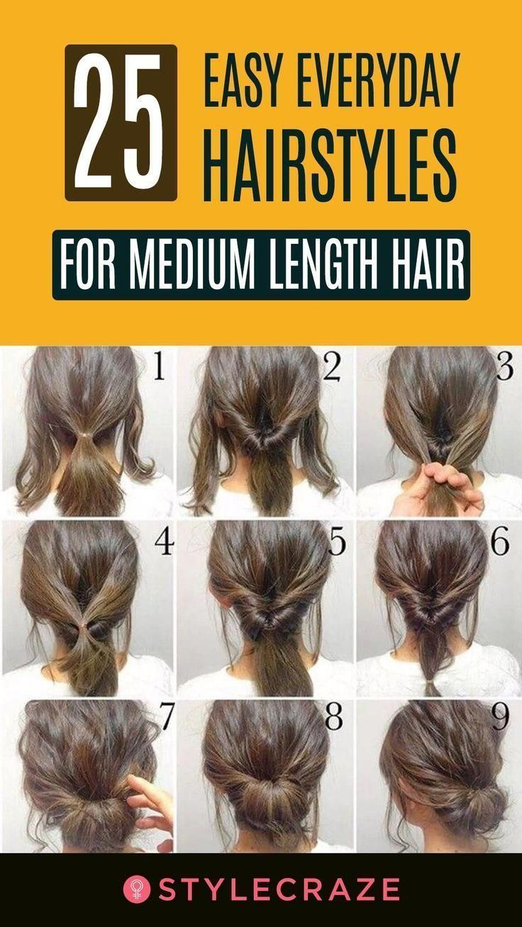 Pin by Violet on Hairstyles in 12  Hairstyles for medium length