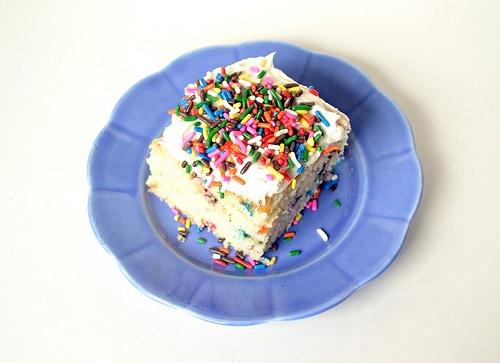funfetti-cake-made-from-scratch | Food - Sweet Stuff | Pinterest