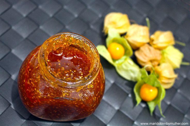 INGREDIENTES 300 g de Physalis 70 g de maçã (usei uma maçã pequena) 10 g de sumo…