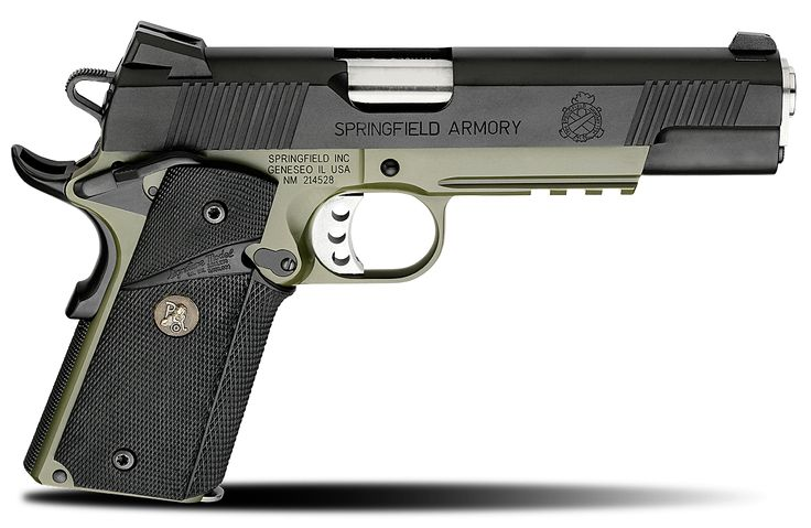1911 MC Operator® .45ACP Pistols | Stainless Steel Handguns Found on springfield-armory.com